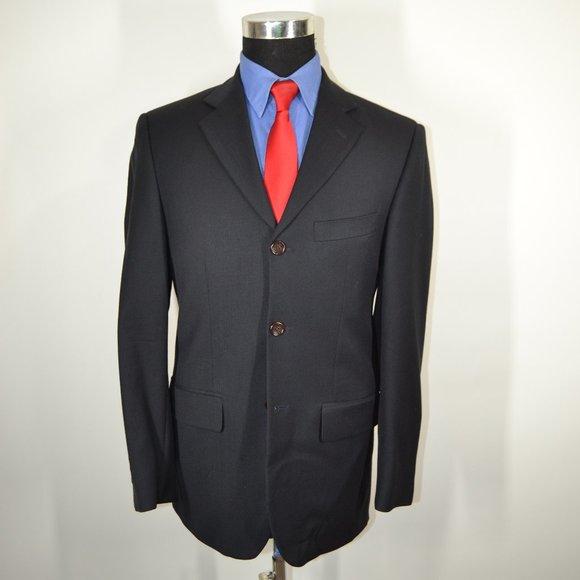 Pronto Uomo Other - Pronto Uomo 36R Sport Coat Blazer Suit Jacket Navy